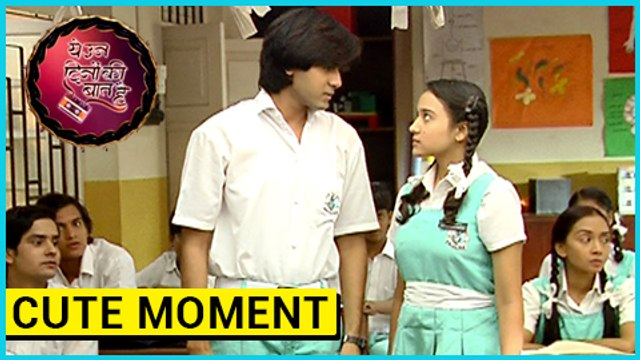 Naina And Sameer CUTE MOMENT In The Classroom  Yeh Un Dinon Ki Baat Hai