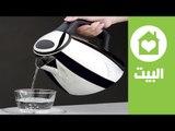 طريقة سريعة لتنظيف الغلاية الكهربائية | ?How to clean the kettle | البيت