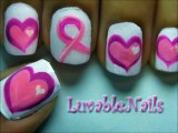Valentines Day Heart Nail Art Tutorial - Valentines Day Nails for Valentines Day Nail Art Valentines Day nail designs 3