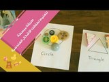 طريقة مبتكرة لتعليم الأطفال الأشكال الهندسية   Learn Geometric Shapes