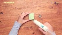 اعملي بنفسك حافظة لمناديل السفرة من رول المناديل | DIY Napkin Holder
