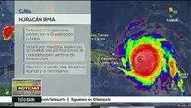 Cuba toma medidas preventivas ante el paso del huracán Irma