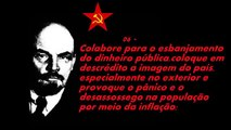 Táticas de guerra do judeu asquenaz comunista e satanista Lenin - Maldição!