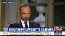 """Ouragan Irma: Edouard Philippe en appelle à la """"mobilisation de l'ensemble du pays"""""""