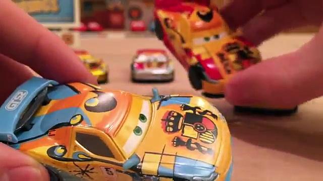 Cars 2 Race Cars