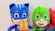 Abc Niños colores para juego hielo Niños Aprender máscaras contaminantes orgánicos persistentes sorpresa juguetes vídeo con pj