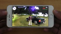 iPhone 6S GTA Liberty City Stories 60fps Gameplay Test (4K)
