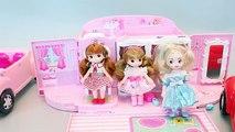 Voiture poupées gelé petit Princesse route jouet voyage Petite Mimi auto Frozen Elsa voyage Peluches mimi disney elsa