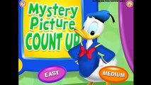 Mickey Mouse Clubhouse Mystery Picture Count Up / Disney Junior (kidz games)