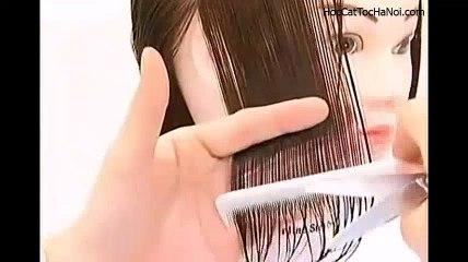 Video Học Cắt Tóc cơ bản Đầu Nấm, Basic Haircut Mushzoom (Phần 1)