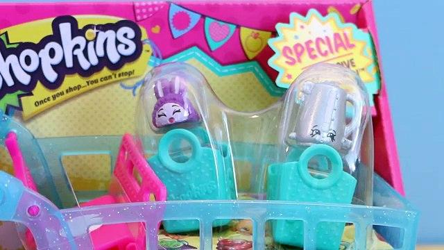 NEW Shopkins Season 3 Shopping Cart with 12 Exclusive Shopkins