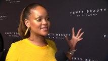 Rihanna Talks New Fenty Beauty Line at NYFW