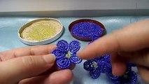 Parte de flor violeta flor talón tejer rebordear 2