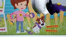 POOPING DOG Cacamax & Giant Poo Surprise Toys in Play Doh Poop! Yuck! by DisneyCarToys