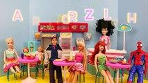 Et par par mort meurt gelé parodie homme araignée Barbie barbie mcdonalds poison disney elsa disne
