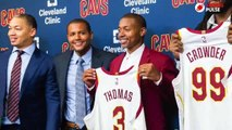 Cleveland cavaliers mum on isaiah thomas' hip injury during introductory news conference