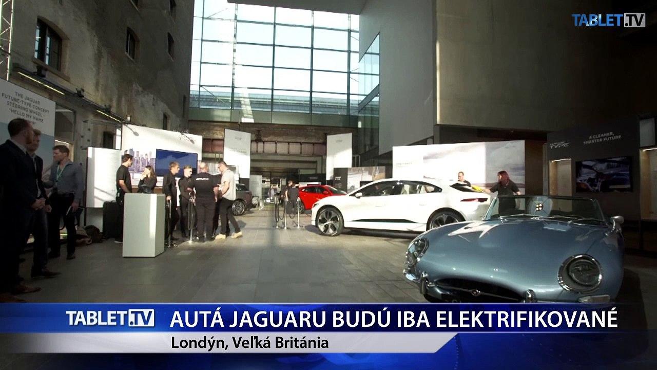 Jaguar chce od roku 2020 vyrábať už len elektrické alebo hybridné autá