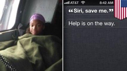 เด็กป่วยสุดฉลาด ขอ SIRI ช่วยจากเฮอร์ริเคนฮาร์วีย์