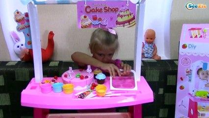 ИГРАЕМ В МАГАЗИН Сладостей с Ярославой! Игры Для детей Kids Games Toys Unboxing