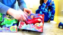 PJ Masks deluxe Vehicles Catboy Cat-Car Gekko Mobile Owlette Owl Glider -Toy unboxing revi