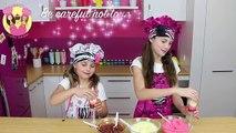 Cuisson banane bloc mignonne drôle de la glace enfants fric sucettes glacées la télé Napolitain pudding pop po