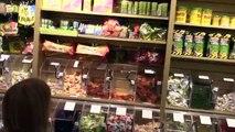Bonbons défi aliments géant brut gommeux maman hors hors réal contre Ver Super freaks