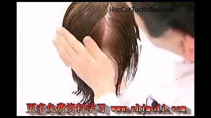 Video Học Cắt Tóc cơ bản Kiểu, Basic Haircut Layer on Layer