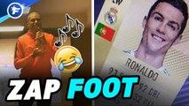Zap Foot : Le Barça trolle le PSG, le nouveau bolide de CR7