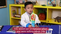 Anson Wong, boy genius, explains the metric system | Anson's Answers