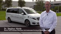 Mercedes-Benz Commercial Vehicles Interview with Dr. Stephan Hönle - urban automated driving by Mercedes-Benz and Bosch