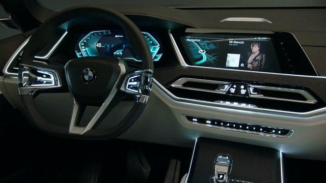 BMW Concept X7 iPerformance Interior Design