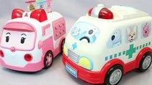 Docteur complet trousse jouets machines dessins animés pro Pororo ambulance ambulance saison Robocar hôpitaux poli poly jouer jouets HD