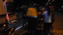 Manisa Otomobilin Çarptığı Motosiklet Sürücüsü Ağır Yaralandı