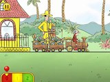 Curious George Train Adventures (By Houghton Mifflin Harcourt) - iOS / Android - Gameplay
