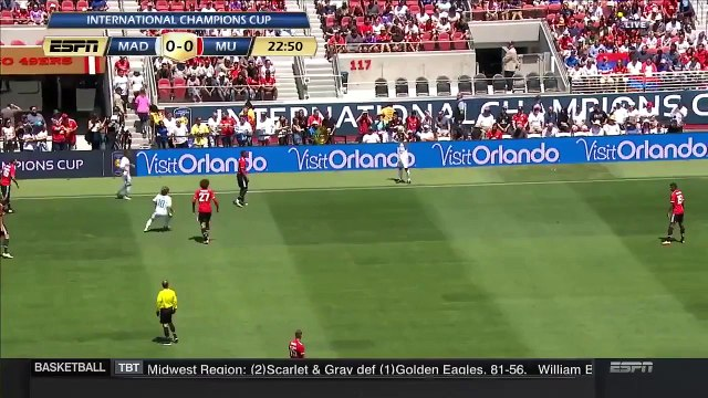 ICC 2017 - Real Madrid vs Manchester United - 24 July 2017