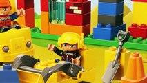 LEGO DUPLO Dump Trucks & Bulldozer My First Construction Site Building Blocks Toys DisneyC
