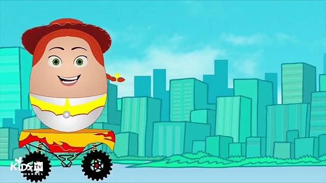 Disney Toy Story Surprise Egg Unboxing Opening Buzz Lightyear Woody Jessie Mr Potato Head