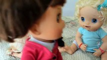 Vivo bebé Adiós arrastre muñeca primero primera ir Pensar obtener Palabra