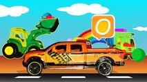 Néerlandais rencontré Les enfants apprennent les voitures abc alphabet néerlandais