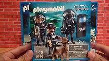 Appareil photo voiture ville gare écraser unité avec Playmobil action police police police tique