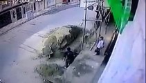 Terrible accident au travail