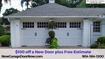A1A Overhead Doors vs New Garage Door Now|5 Star Rated| 904-564-1200