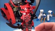 Bataille lame élémentaire finale générales général de la glace contre Lego® ninjago 70504 garmatron w zane kozu spe