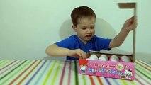 Des œufs bonjour Salut minou jouets jouets avec de Bonjour Kitty Les oeufs surprise surprise, ouvert