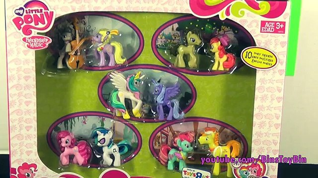 So Many Ponies! The Ultimate My Little Pony Blind Bag Mini Figure Collection! by Bins Toy