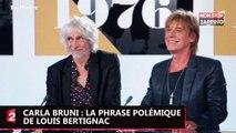 Carla Bruni : la phrase pas classe de Louis Bertignac ne passe pas