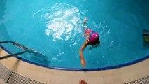 Havuzu, yüzmeyi özlemişiz, kısa havuz keyfimiz, eğlenceli çocuk videosu