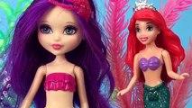 Confronte poupées sa kidnappé sirène de de partie sœur avec Juillet ariel ariel barbie