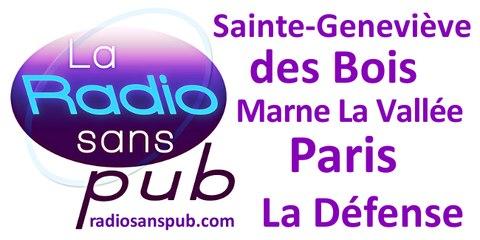 La Radio Sans Pub à Ste Geneviève des Bois