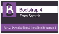 Lecture 2: Downloading and Installing Bootstrap and jQuery (Tutorial # 02 by Podina Production)